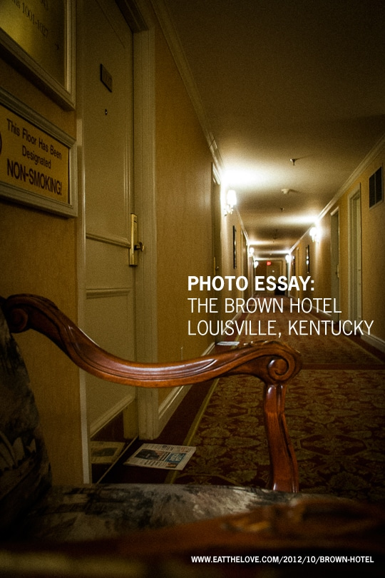 Photo Essay: The Brown Hotel, Louisville Kentucky
