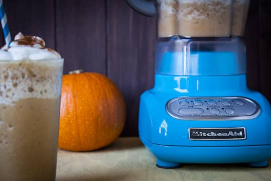KitchenAid's Crystal Blue Blender. Photo by Irvin Lin of Eat the Love. | www.eatthelove.com