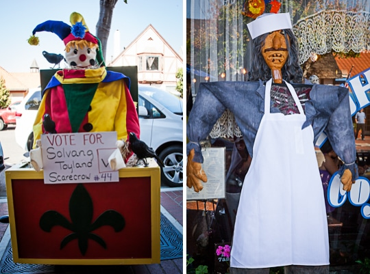 The 3rd Annual Scarecrow Competition of Solvang, California, 2012 by Irvin Lin of Eat the Love