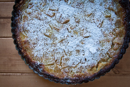 Pear Bourbon Clafoutis by Irvin Lin of Eat the Love