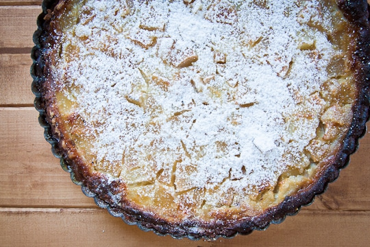 Pear Bourbon Clafouti by Irvin Lin of Eat the Love