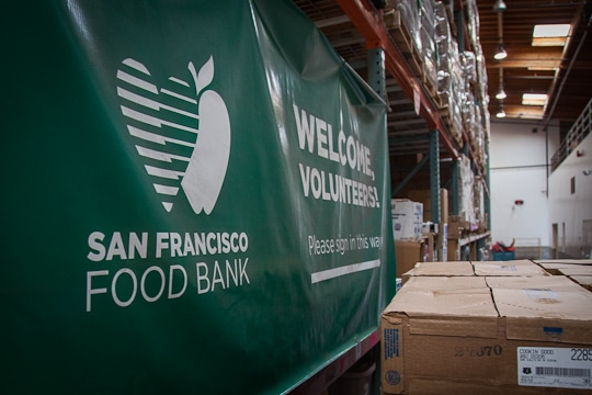 San Francisco and Marin Food Bank by Irvin Lin of Eat the Love
