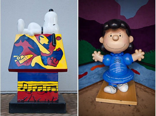 Charles M. Schulz Museum by Irvin Lin of Eat the Love