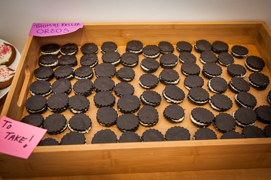 Thomas Keller Oreos at 18 Reason's DIY Dessert Holiday Cookie Swap. Photo by Irvin Lin of Eat the Love, www.eatthelove.com