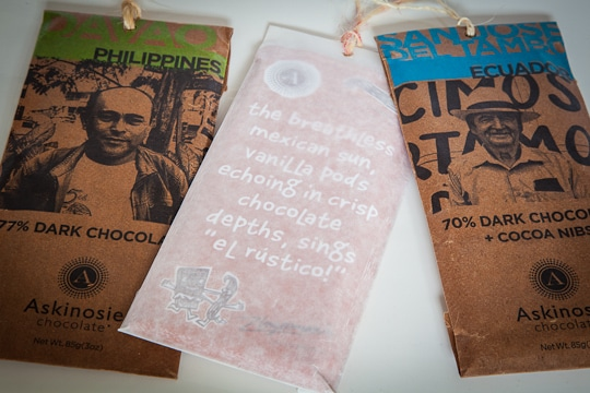 Askinosie Chocolate. Photo by Irvin Lin of Eat the Love
