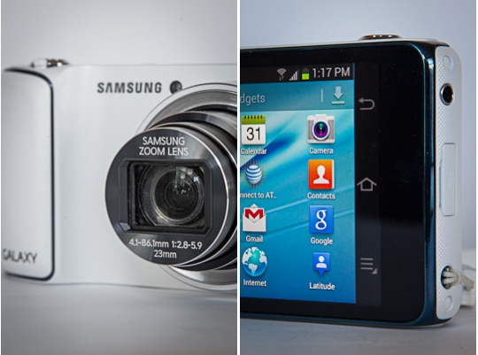 Samsung Galaxy Camera. Photo by Irvin Lin of Eat the Love