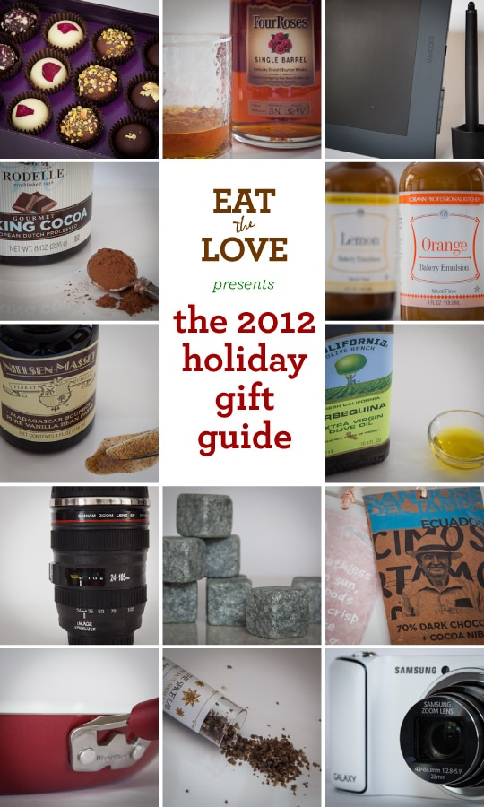 The 2012 Holiday Gift Guide by Irvin Lin of Eat the Love