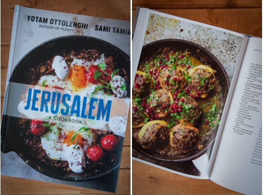 Jerusalem cookbook. Photo by Irvin Lin of Eat the Love