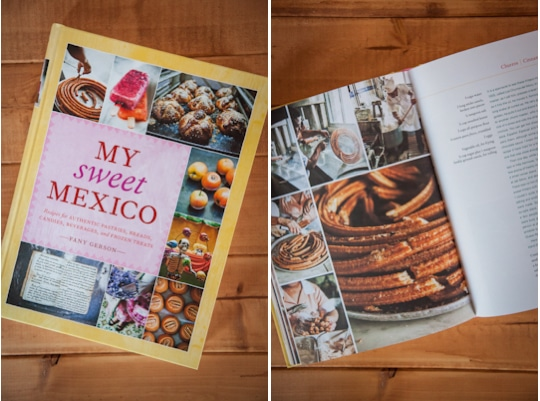 My Sweet Mexico cookbook. Photo by Irvin Lin of Eat the Love