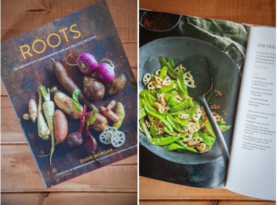 Roots cookbook. Photo by Irvin Lin of Eat the Love