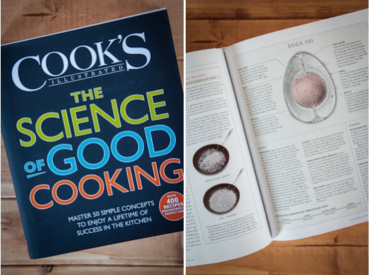 The Science of Good Cooking cookbook. Photo by Irvin Lin of Eat the Love