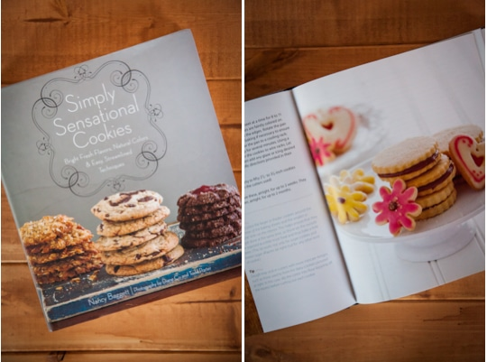 Simply Sensational Cookies cookbook. Photo by Irvin Lin of Eat the Love