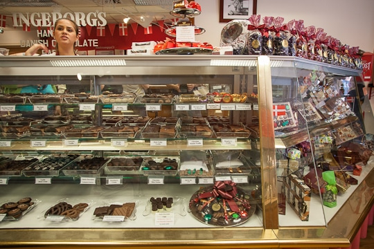 Chocolate shop in Solvang, California. Photo by Irvin Lin of Eat the Love. www.eatthelove.com