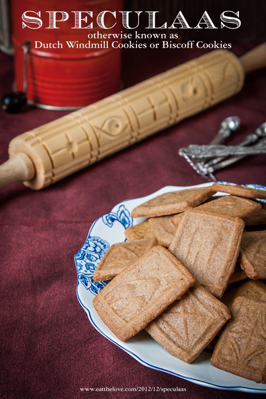Speculaas Cookies by Irvin Lin of Eat the Love