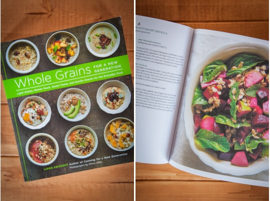 Whole Grains for a New Generation cookbook. Photo by Irvin Lin of Eat the Love