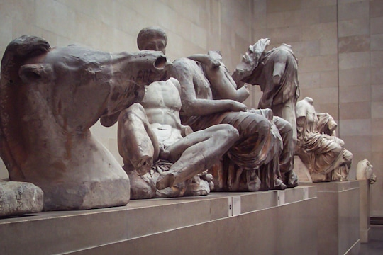 The Elgin Marbles in the British Museum. Photo by Irvin Lin of Eat the Love. www.eatthelove.com