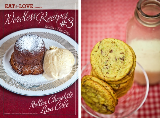 Wordless Recipes and Pistachio Chocolate Chip Cookies. Photo by Irvin Lin of Eat the Love. www.eatthelove.com