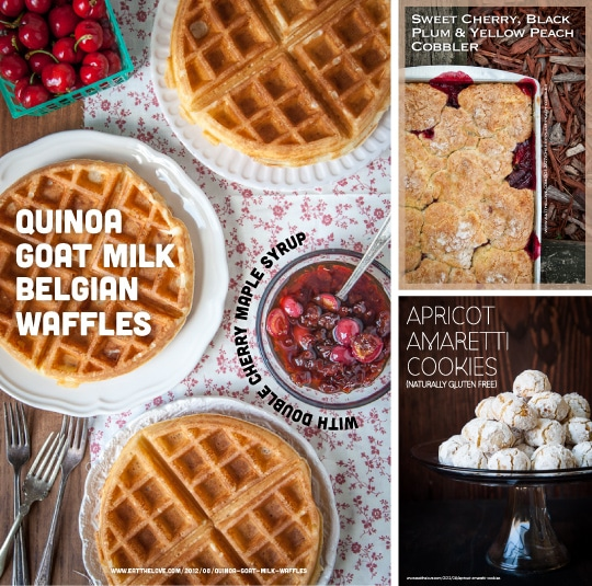 Goat Milk Waffles and more. Photos by Irvin Lin of Eat the Love. www.eatthelove.com