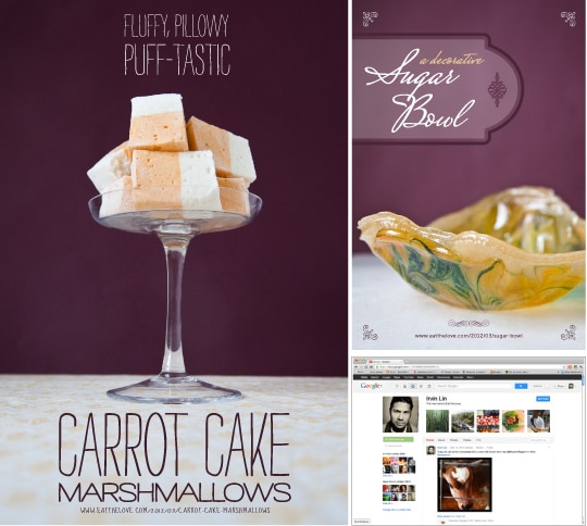 Carrot Cake Marshmallows and more! Photo by Irvin Lin of Eat the Love. www.eatthelove.com