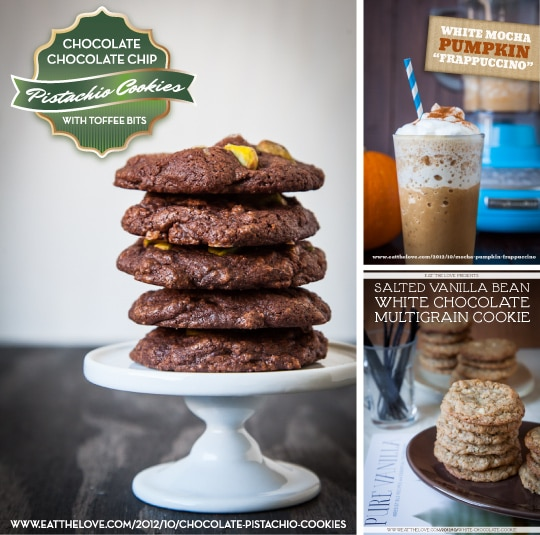 Chocolate Pistachio cookies and more. Photo by Irvin Lin of Eat the Love. www.eatthelove.com