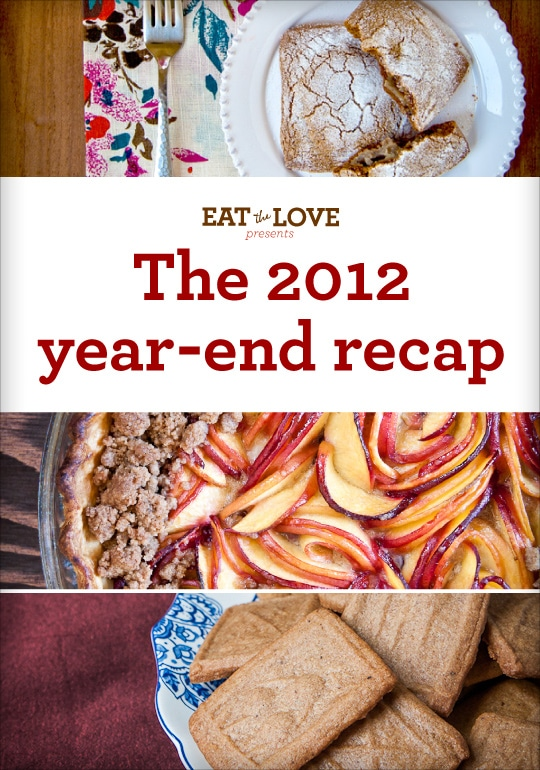 Eat the Love presents the 2012 year-end recap. By Irvin Lin of Eat the Love.