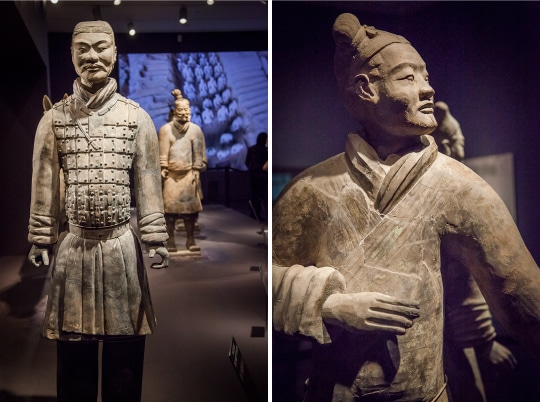 China Terracotta Warriors at the Asian Art Museum by Irvin Lin of Eat the Love. www.eatthelove.com