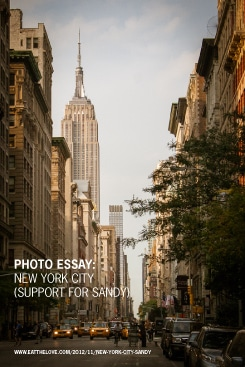Photo Essay: New York City (Support for Sandy)