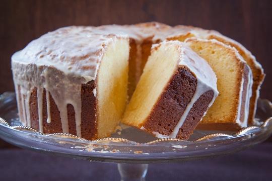Seville Orange Noyaux Semolina Pound Cake by Irvin Lin of Eat the Love. www.eatthelove.com