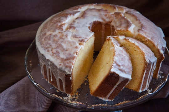Seville Orange Noyaux Semolina Pound Cake by Irvin Lin of Eat the Love. www.eatthelove.com