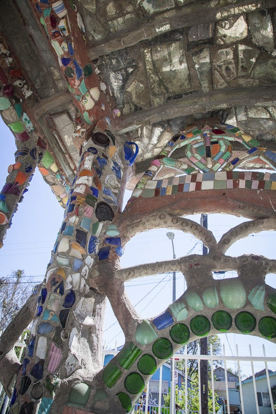 Watts Towers. Photo by Irvin Lin of Eat the Love. www.eatthelove.com