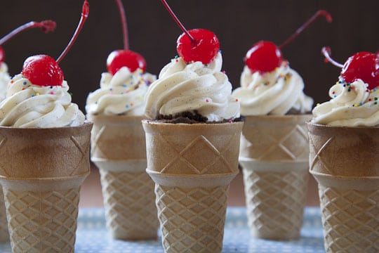 Cupcake Cone | Best Cupcake Recipe | Eat the Love