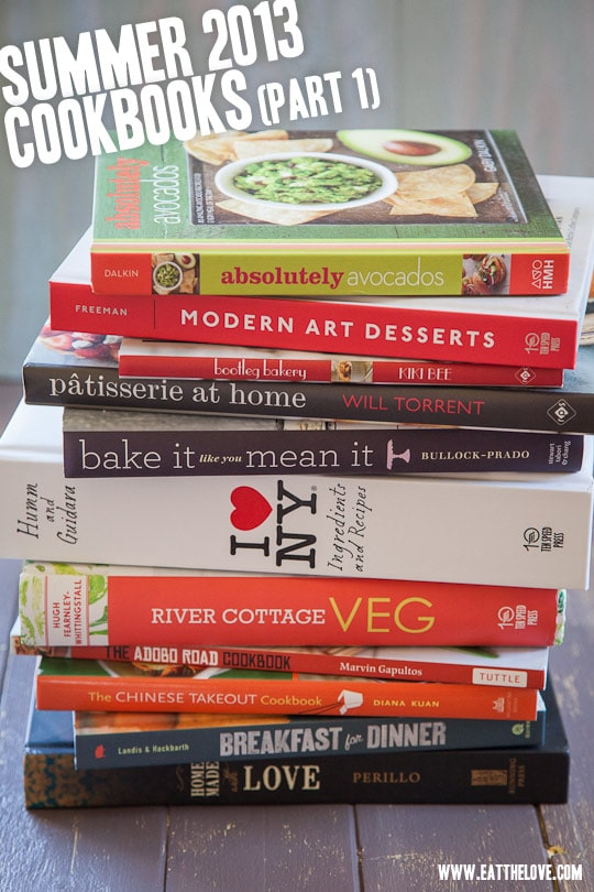 Cookbooks Roundup Summer 2013 pt1 by Irvin Lin of Eat the Love. www.eatthelove.com