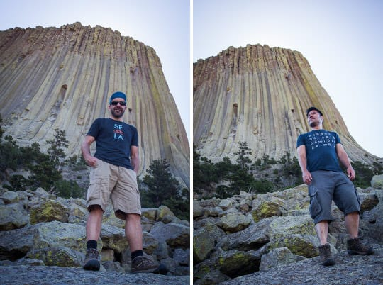 At Devils Tower National Monument by Irvin Lin of Eat the Love | www.eatthelove.com