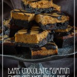 Pumpkin Cheesecake Brownies by Irvin Lin of Eat the Love | www.eatthelove.com