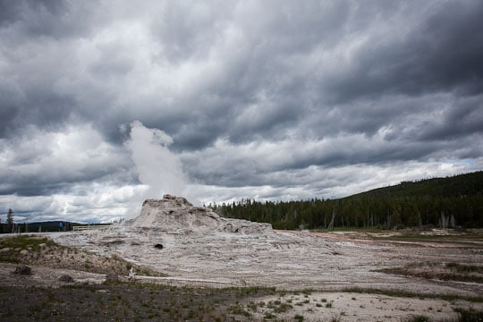 A Geyser at Yellowstone National Park by Irvin Lin of Eat the Love. www.eatthelove.com