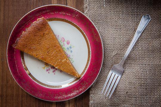 Pumpkin Chess Pie Tart by Irvin Lin of Eat the Love. | www.eatthelove.com