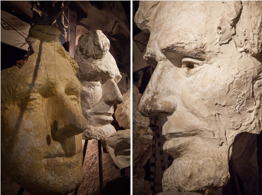 Sculpture study for Mount Rushmore National Monument. Photo by Irvin Lin of Eat the Love. | www.eatthelove.com