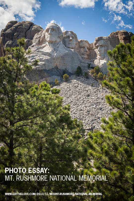 Mount Rushmore National Monument. Photo by Irvin Lin of Eat the Love. | www.eatthelove.com