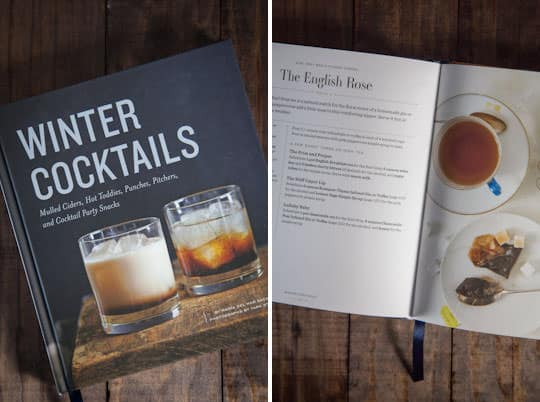 Winter Cocktails cookbook