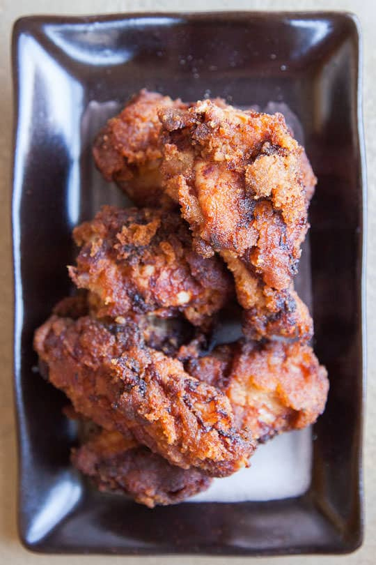 Honey Fried Chicken Recipe. Photo and Recipe by Irvin Lin of Eat the Love. www.eatthelove.com