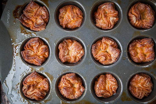 Kouign Amann in a pan. Photo and recipe by Irvin Lin of Eat the Love. www.eatthelove.com