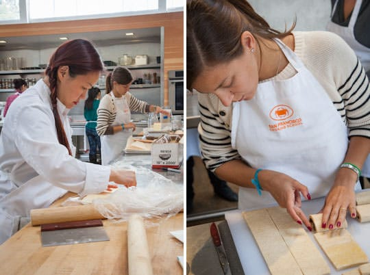 San Francisco Cooking School - Laminated Dough Class. Photo by Irvin Lin of Eat the Love. www.eatthelove.com