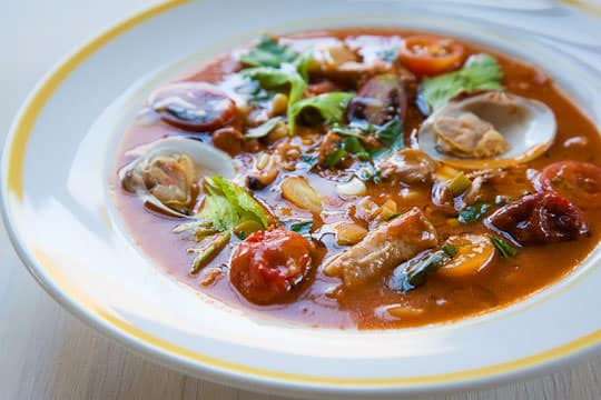 Manhattan Clam Chowder. Photo and recipe by Irvin Lin of Eat the Love. www.eatthelove.com
