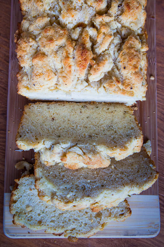 How to make beer bread. Photo and recipe by Irvin Lin of Eat the Love.