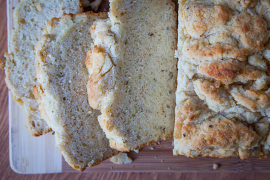 A better beer bread. Photo and recipe by Irvin Lin of Eat the Love.