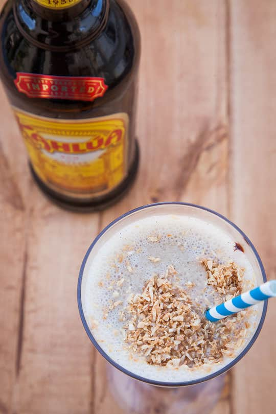 #Ad | The Kahlua Coconut Mudslide. Photo by Irvin Lin of Eat the Love.