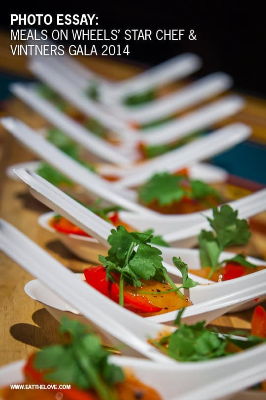 Meals on Wheels' Star Chefs and Vintner's Gala event. Photo by Irvin Lin of Eat the Love
