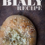 Bialy, a recipe for the underappreciated sibling of the bagel. Photo and recipe by Irvin Lin of Eat the Love.