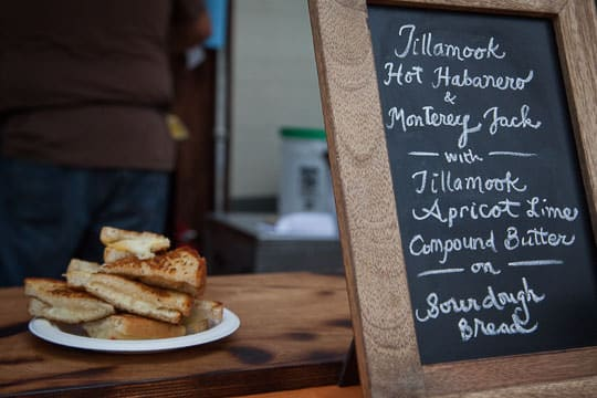 Tillamook's grilled cheese. Photo by Irvin Lin of Eat the Love