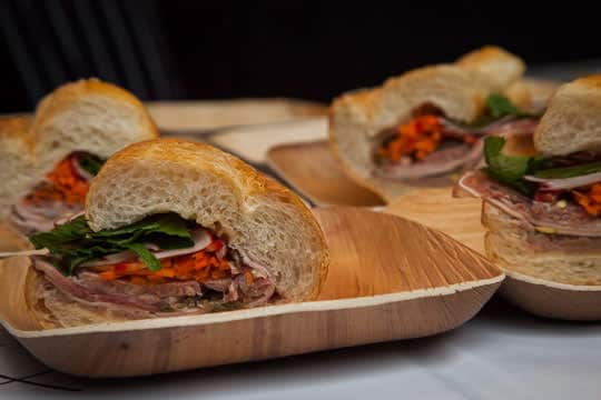 The Cicciolina, an Italian Bahn Mi sandwich By Chris Cosentino at Feast Portland. Photo by Irvin Lin of Eat the Love.